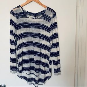 Style & Co long sleeves sweater top size M
